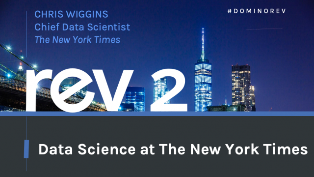 Data Science at The New York Times