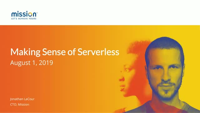 Making Sense of Serverless