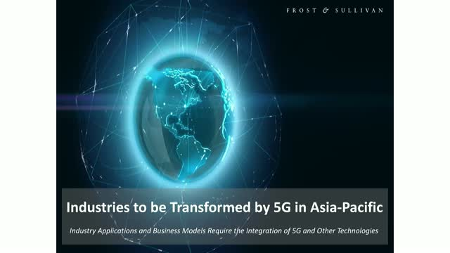Industries to be Transformed by 5G in Asia-Pacific