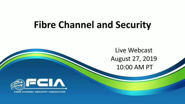 Fibre Channel and Security