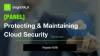 [PANEL] Protecting & Maintaining Cloud Security