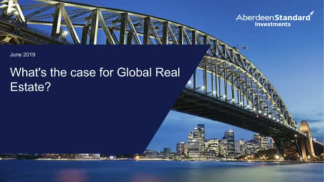What's the case for Global Real Estate?