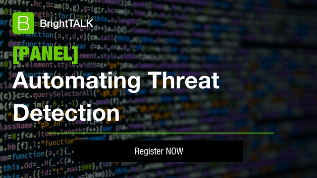 [PANEL] Automating Threat Detection and Response