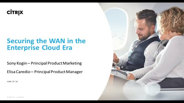 Securing the WAN in the Enterprise Cloud Era