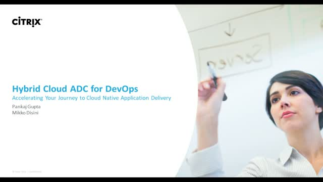 Hybrid Cloud ADC for DevOps