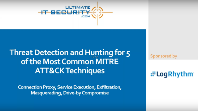 Threat Detection and Hunting with MITRE ATT&CK