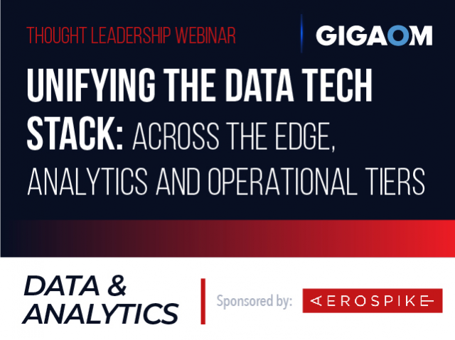 Unifying the Data Tech Stack: Across the Edge, Analytics and Operational Tiers
