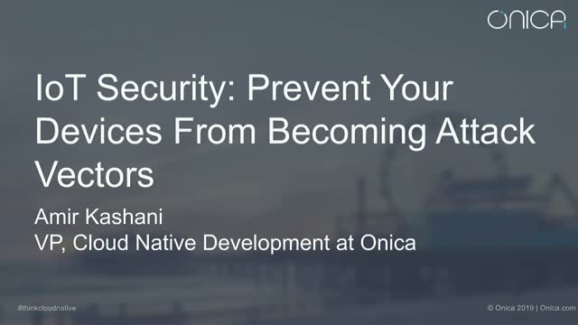 IoT Security: Prevent Your Devices from Becoming Attack Vectors