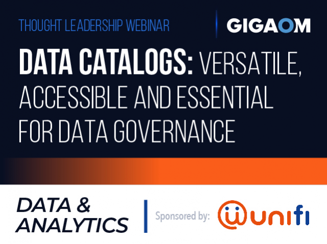 Data Catalogs: Versatile, Accessible and Essential for Data Governance