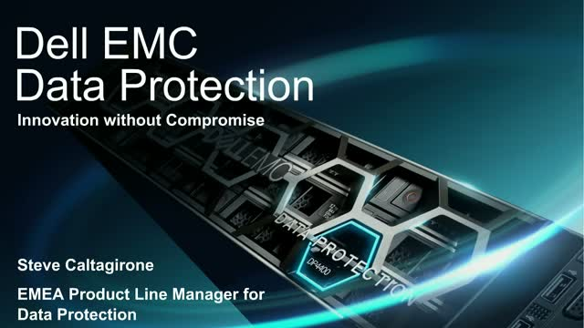 Integrated Data Protection Appliance DP4400 available in new Capacity Points