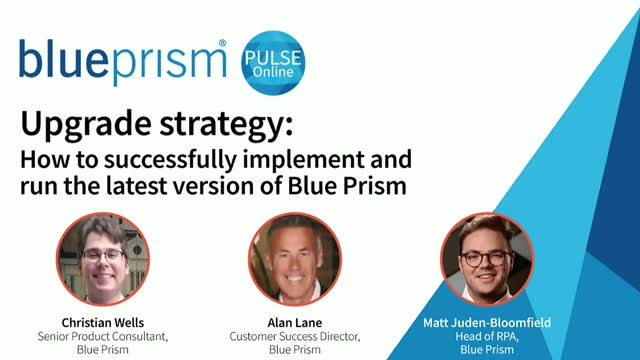 Upgrade strategy: how to successfully implement a new version of Blue Prism