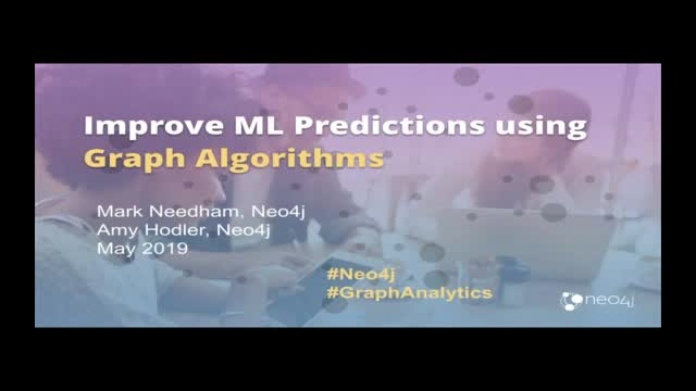 Improving Machine Learning Predictions Using Graph Algorithms