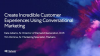 Create Incredible Customer Experiences Using Conversational Marketing