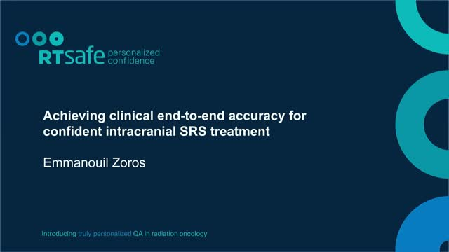 Achieving clinical end-to-end accuracy for confident intracranial SRS treatment
