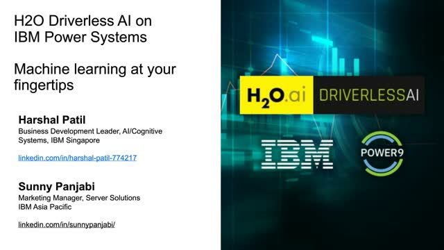 H2O Driverless AI – Making ML Models in a Matter of Minutes