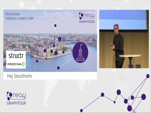 Keynote by Emil Eifrem, CEO & Co-Founder Neo4j, at GraphTour Europe 2019,