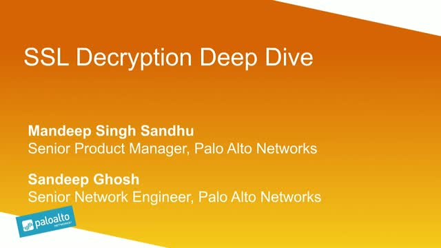 SSL Decryption Deep Dive