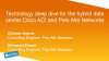 Technology Deep Dive for the Hybrid Data Center:Cisco ACI and Palo Alto Networks
