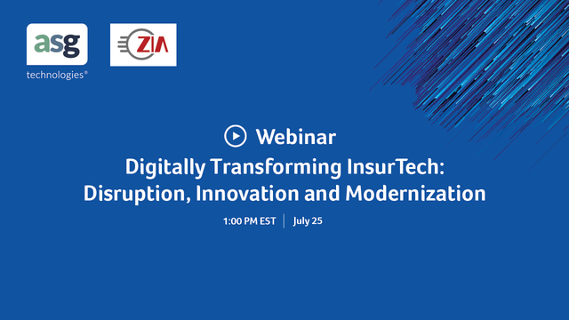 Digitally Transforming InsurTech: Disruption, Innovation and Modernization