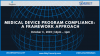 Medical Device Program Compliance: A Framework Approach