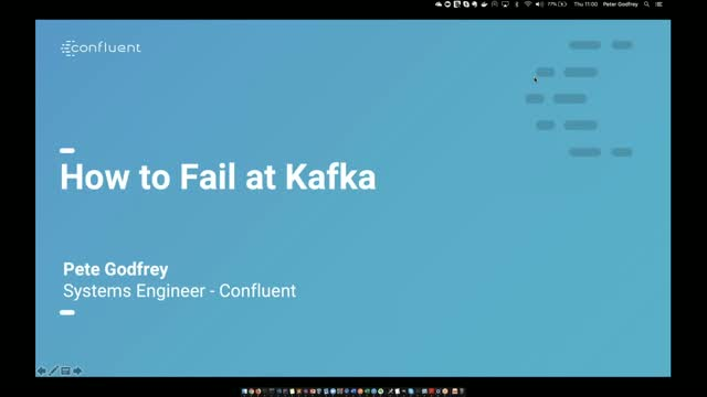 How to Fail at Kafka