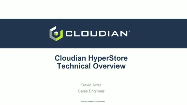Data is money, maximise it with Cloudian