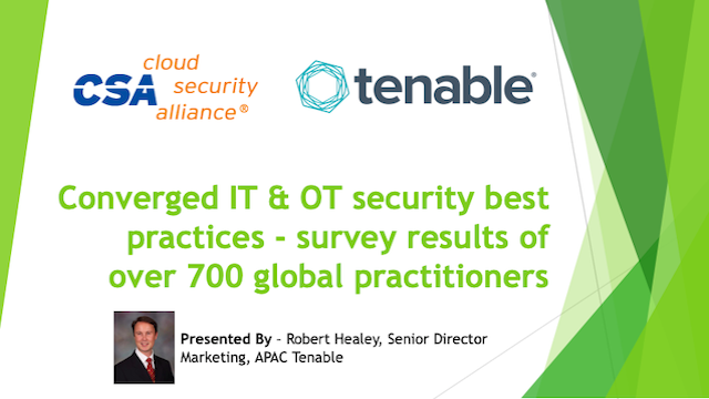 IT & OT Security Best Practices-Survey Results of Over 700 Global Practitioners