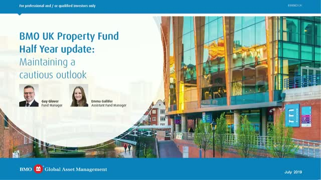 BMO UK Property Fund half year update: Maintaining a cautious outlook