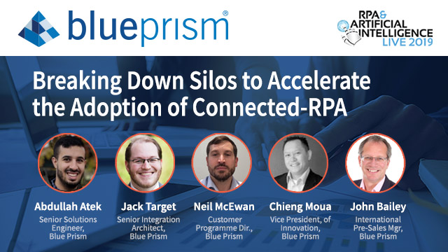 Breaking Down Silos to Accelerate the Adoption of Connected RPA