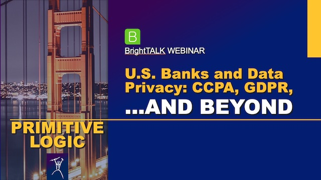 U.S. Banks and Data Privacy: CCPA, GDPR, and Beyond