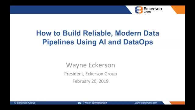 How to Build Reliable Modern Data Pipelines Using AI and DataOps