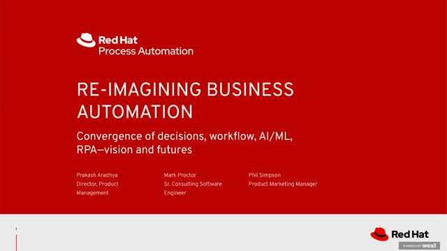 Re-imagining business process automation with AI and low-code development