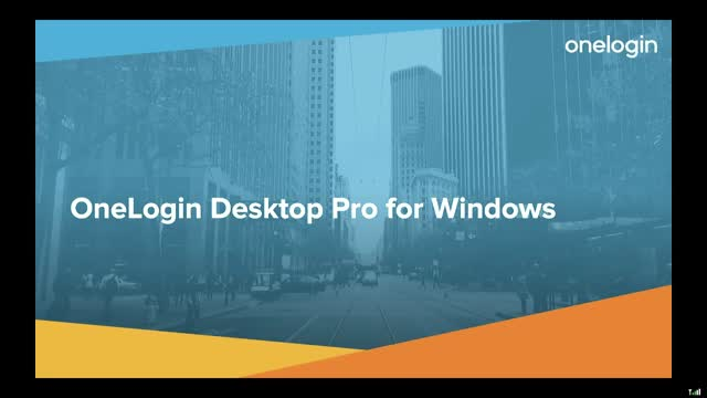 OneLogin Desktop Pro for Windows