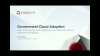 Recorded at the AWS Public Sector Summit: Government Cloud Adoption