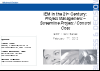 Industrial Manufacturing 4: Project Management-Streamline Projects/Control Costs