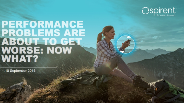Mobile Network Performance Problems Are About to Get Worse: Now What?