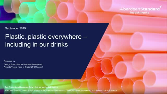 Plastic, plastic everywhere - including in our drinks