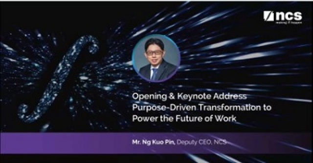 Purpose-Driven Transformation to Power the Future of Work