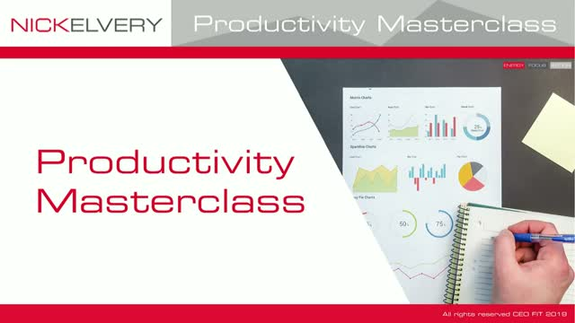 Productivity Masterclass