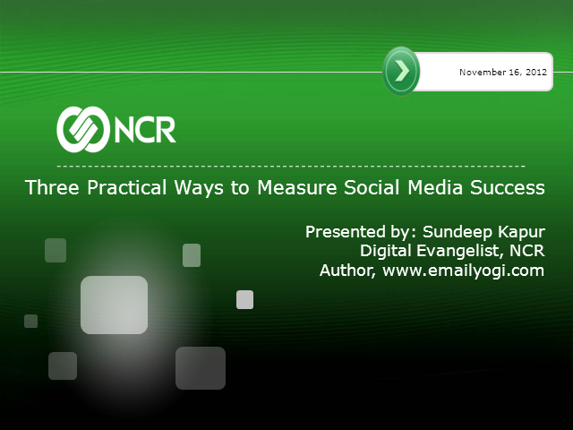 Three Practical Ways to Measure Social ROI
