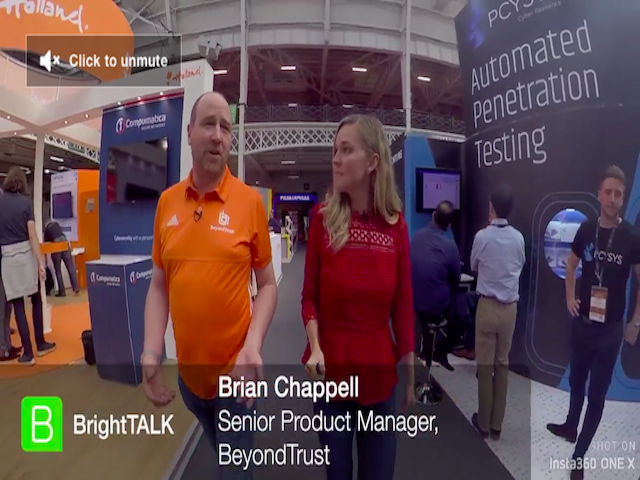 360 Infosec Interview with Brian Chappell, BeyondTrust