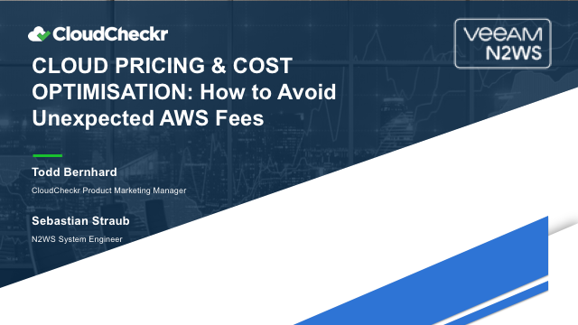 Cloud Pricing and Cost Optimisation: How to Avoid Unexpected AWS Fees