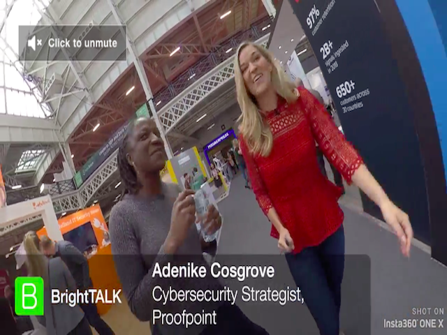 360 Infosec Interview with Adenike Cosgrove, Proofpoint
