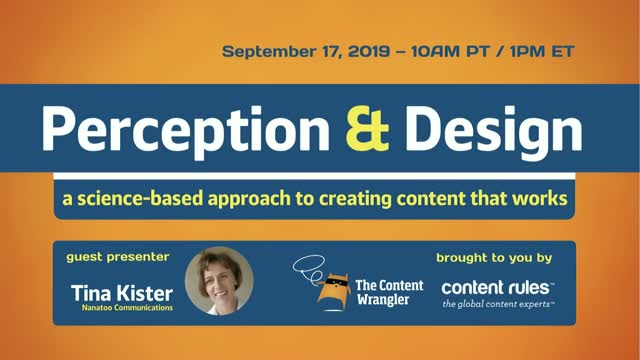Perception and Design: A Science-Based Approach for Creating Content that Works