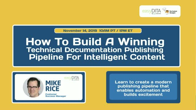 How to Build a Winning Documentation Publishing Pipeline for Intelligent Content