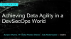 Achieving Data Agility in a DevSecOps World