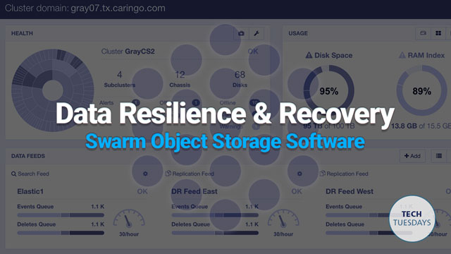 Tech Tuesday: Data Resilience & Recovery in Swarm Object Storage