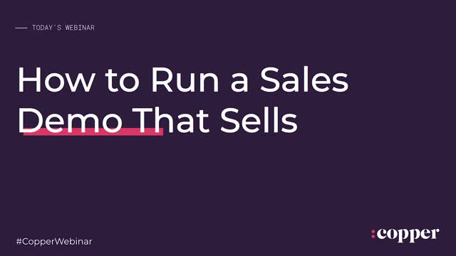 Running a Sales Demo Best Practices