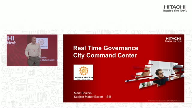 Real Time Governance City Command Center