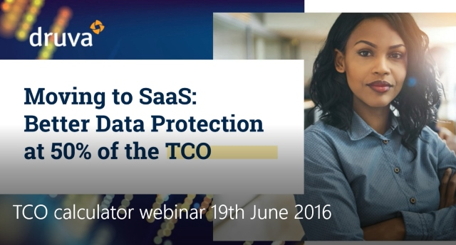 Moving to SaaS: Better Data Protection at 50 % of the TCO